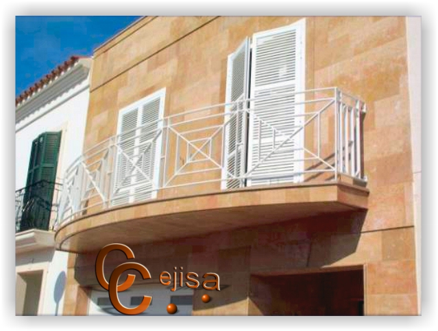 Barandas para escaleras de diferentes tipos y modelos for Tipos de escaleras exteriores