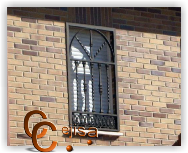 Ventanas De Herreria En Arco Modelo En Forja Con Arco Pictures to pin