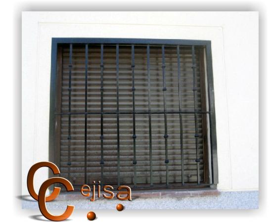 Rejas de hierro para ventanas car interior design - Modelo de rejas ...