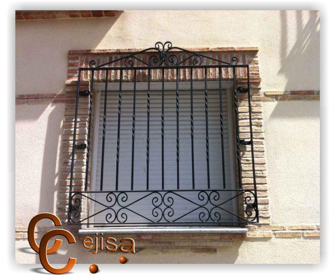 Related pictures disenos ventanas car interior design - Rejas de hierro forjado ...